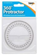 Tiger 360 Degree Maths Protractor